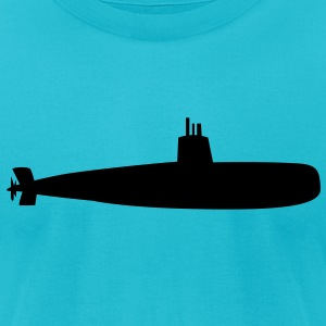 submarine bold T-Shirts - Men's T-Shirt by American Apparel