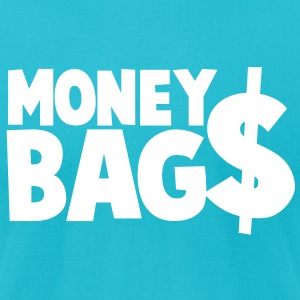 money bags $$$ dollars coin T-Shirts - Men's T-Shirt by American Apparel