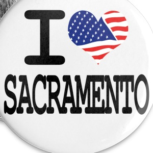 i love sacramento Buttons - Small Buttons