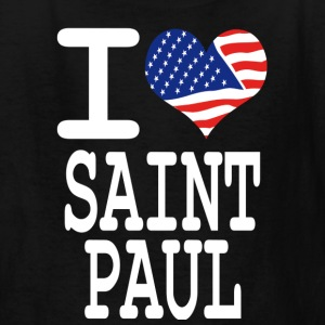 i love saint paul - white Kids' Shirts - Kids' T-Shirt