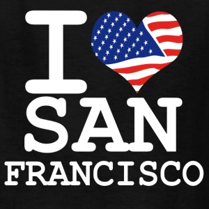 i love san francisco - white Kids' Shirts - Kids' T-Shirt