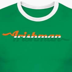 irishman in three color flag T-Shirts
