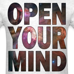 Open Your Mind - HD Design T-Shirts - Men's T-Shirt