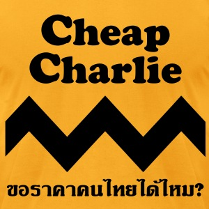 Cheap Charlie T-Shirts - Men's T-Shirt by American Apparel