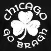 Chicago Go Bragh - Women's V-Neck T-Shirt