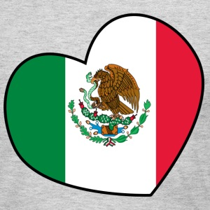 Heart for Mexico - Women's Long Sleeve Jersey T-Shirt