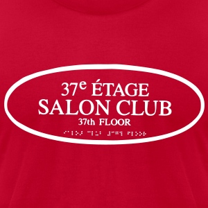 Salon Club 37 - SamLoz Design - Men's T-Shirt by American Apparel