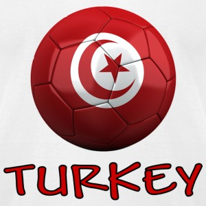 Team Turkey FIFA World Cup T-Shirts - Men's T-Shirt by American Apparel
