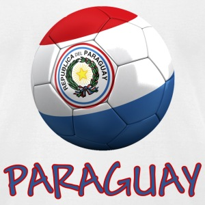 Team Paraguay FIFA World Cup T-Shirts - Men's T-Shirt by American Apparel