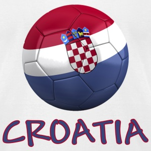 Team Croatia FIFA World Cup T-Shirts - Men's T-Shirt by American Apparel