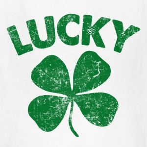 4 Leaf Lucky Green Kids' Shirts - Kids' T-Shirt