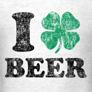 I Love Beer T-Shirts - Men's T-Shirt