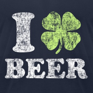 I Love Beer! T-Shirts - Men's T-Shirt by American Apparel