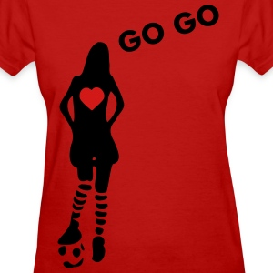 Love football sports Women's Standard Weight T-Shirt - Women's T-Shirt