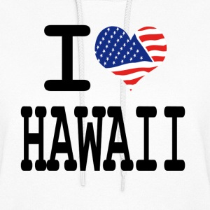 i love hawaii Hoodies - Women's Hoodie