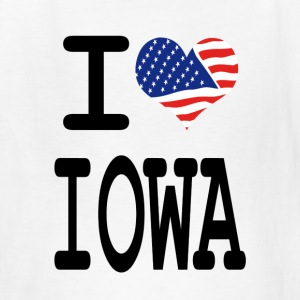 i love iowa Kids' Shirts - Kids' T-Shirt