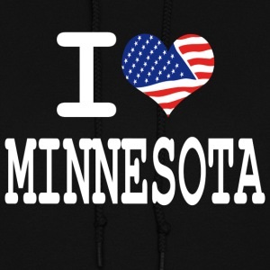 i love minnesota - white Hoodies - Women's Hoodie