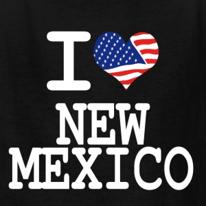 i love new mexico - white Kids' Shirts - Kids' T-Shirt
