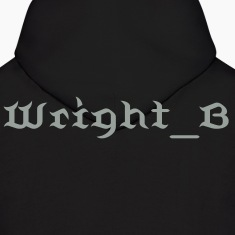 The Smoke Grey Wright_B Hoody for Men