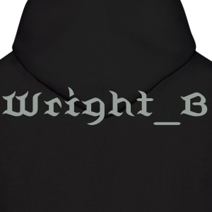 The Smoke Grey Wright_B Hoody for Men - Men's Hoodie