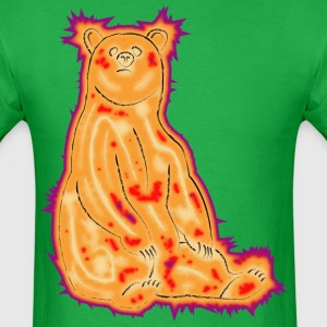 Electric Grizzly - Men's T-Shirt