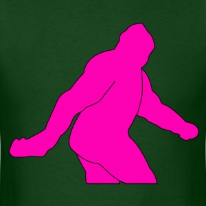 Hot Pink Sasquatch - Men's T-Shirt