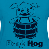Design ~ Bare Hog Logo--Black Glitz