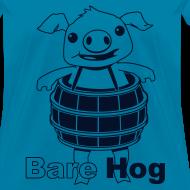 Design ~ Bare Hog Logo--Black Glitz