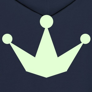 new pointy princess prince crown Hoodies - Men's Hoodie