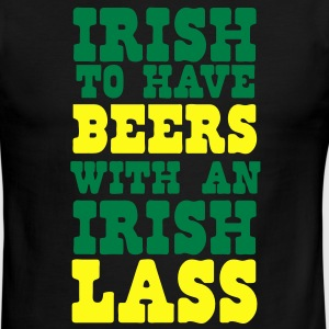 irish to have beers with an irish lass T-Shirts - Men's Ringer T-Shirt