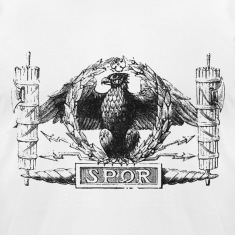 Roman Eagle With SPQR Sign (2nd version)