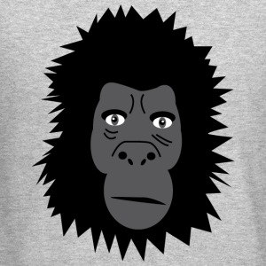 Gorilla Long Sleeve Shirts - Crewneck Sweatshirt