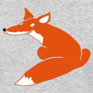 Design ~ t-shirt fox foxy smart forest animal hunter hunting