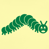 Design ~ animal t-shirt caterpillar worm snake hungry butterfly magot maggot grub crawler inchworm looper