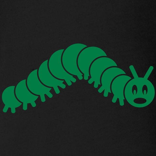 animal t-shirt caterpillar worm snake hungry butterfly magot maggot grub crawler inchworm looper