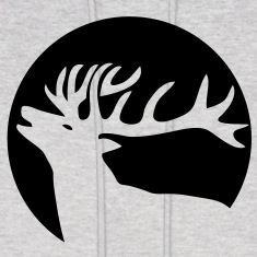 wild stag deer moose elk antler antlers horn horns cervine hart bachelor party night hunter hunting Hoodies