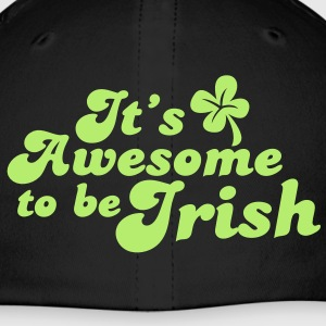 IT's AWESOME to be IRISH St Patricks day design Caps - Baseball Cap