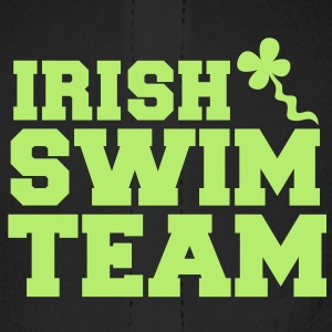 irish swim team with shamrock sperm  Caps - Baseball Cap