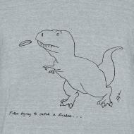 Design ~ T-Rex Frisbee (Am Apparel)