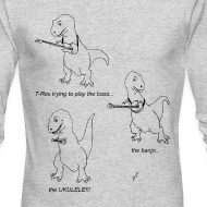 Design ~ T-Rex Ukulele (Long Sleeve)