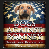 Design ~ Official Dogs Against Romney Women's Tee