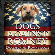 Design ~ Official Dogs Against Romney Tie Dye Tee