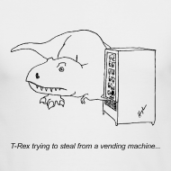 Design ~ T-Rex Vending Machine (Long Sleeve)