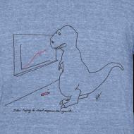 Design ~ T-Rex Exponential Growth Chart (Am Apparel)