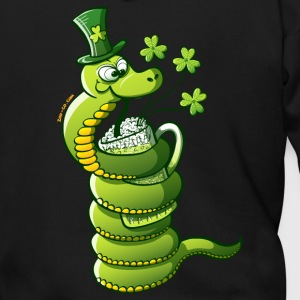 Saint Patrick's Day Snake Zip Hoodies/Jackets - Men's Zip Hoodie