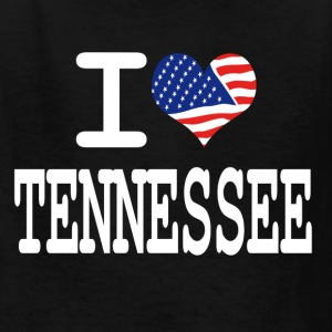 i love tennessee - white Kids' Shirts - Kids' T-Shirt