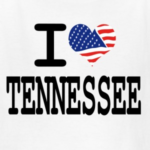 i love tennessee Kids' Shirts - Kids' T-Shirt