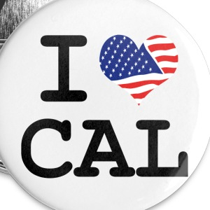 i love Cal - California Buttons - Small Buttons