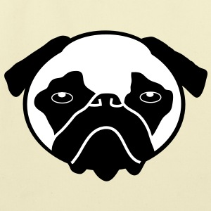 Pug Bags  - Eco-Friendly Cotton Tote