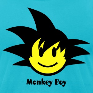 Smiley Son Guku Icon 2c T-Shirts - Men's T-Shirt by American Apparel